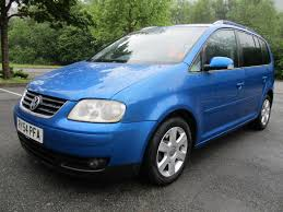 volkswagen tdi 2004 used 2004 volkswagen touran sport tdi 7 str for sale in porth mid