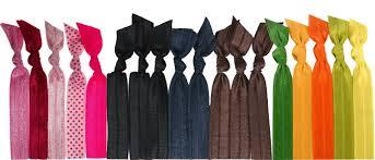 ribbon elastic trend alert colorful ribbon elastic hair ties as bracelets