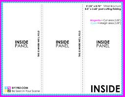 tri fold brochure publisher template size brochure template fieldstation co