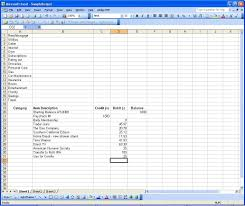 Financial Tracking Spreadsheet Using Excel Part 1 U2013 Tracking Spending Paranoid Asteroid