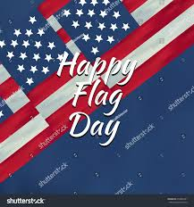Red Flag Day Flag Day Background Happy Flag Day Stock Vector 653888341