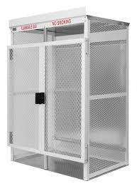 flammable gas storage cabinets 100lb lp cylinder steel gas cage and high pressure welding or oxygen