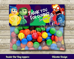 inside out party inside out favor bag toppers birthday party printable 2