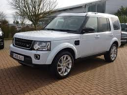 land rover white 2016 used 2016 land rover discovery 4 sdv6 landmark vat qualifier for