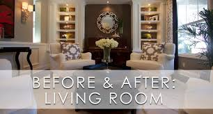 stylish transitional living room before and after robeson design