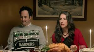 raiders light up christmas sweater chiefs raiders christmas commercial youtube