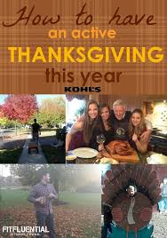healthy thanksgiving day activities fitfluential