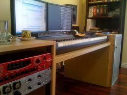 Studio Desk Diy Recording Studio Desk Design Home Design Ideas