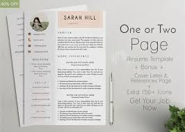 One Page Resume Example by 15 Best One Page Resume Template Images On Pinterest Resume