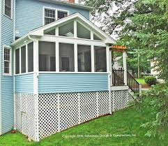 Screen Porch Designs For Houses Want To Convert Your Deck To A Porch U2013 Suburban Boston Decks And