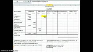 Accrual Spreadsheet Template Printable General Ledger Sheet Template