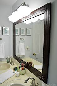 bathroom cabinets wall mirror large framed mirrors mirror framed