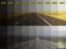 on site window tinting example of tint darkness percentages car tinting laws