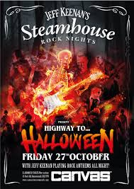 steamhouse rocks presents highway to halloween canvas