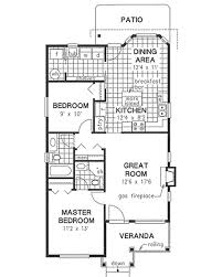 small house floor plans 1000 sq ft traditional style house plan 2 beds 2 baths 1000 sq ft plan 18
