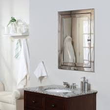 Framing Bathroom Mirror by Bathroom Intriguing Bathroom Mirror Cabinet With Oak Frame