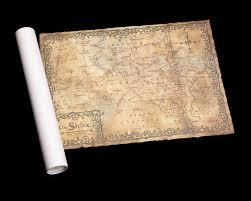 The Hobbit Map Weta Workshop