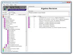 free maths worksheets made with mathsprint