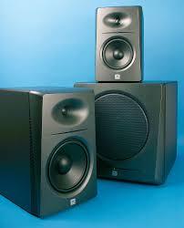 speaker design jbl lsr 2300