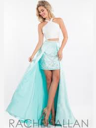 rachel allan 7564 two piece hi low prom dress dressprom net