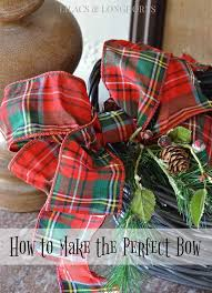 how to make the perfect bow lilacs and longhornslilacs and longhorns