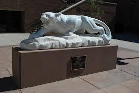 mountain lion statue mountain lion way colorado springs mapio net