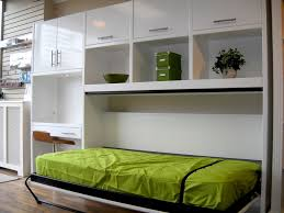 bedroom wall bed space saving furniture apartment interior design