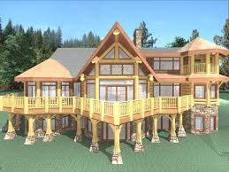 luxury log cabin plans three forks log home montana specialty construction fork truck for