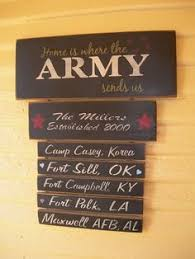 deployment in this house military patriotic home wood home