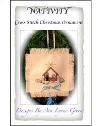 everything cross stitch nativity cross stitch christmas ornament