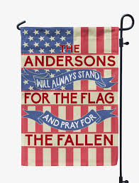 Stand Up Flag Banners Personalized Will Always Stand For The Flag Mostly Pillows