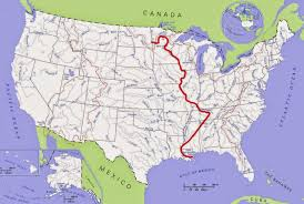 Mexico On Map by Mississippi River On Map My Blog