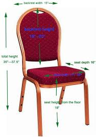 Normal Chair Dimensions Banquet Chair Sizes Folding Chair Sizes Chair Covers U0027 Color Chart