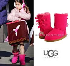 ugg youth bailey bow sale suri brand ugg cost 120 pink bailey bow uggs suri