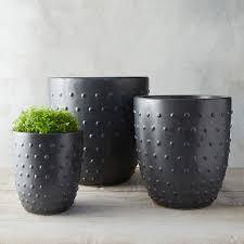 Indoor Planters Hobnail Textured Clay Pot Indoor Planters Terrain