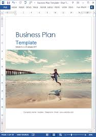 Free Excel Business Plan Template Business Plan Templates 40 Page Ms Word 10 Free Excel Spreadsheets