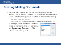 office 2013 mail merge microsoft office word 2013 expert microsoft office word 2013
