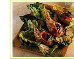 cuisiner des crepinettes recette crepinettes de côtes d agneau au crottin de chavignol