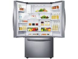 lowes appliance sale black friday shop samsung 28 07 cu ft french door refrigerator with dual ice