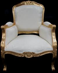 French Style Armchair A Beautiful Gold Leaf And Black Arm Chair Hampshire Barn Interiors