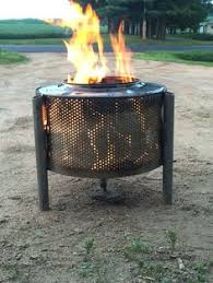 Washing Machine Firepit Washing Machine Drum Pit Patio Burner Incinerator Cool
