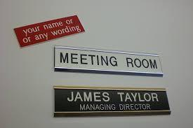 executive aluminium door signs amazon co uk office products