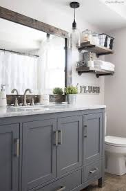 bathroom cabinets large framed bathroom mirrors home depot wall