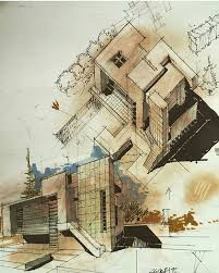 113 best architecture sketch images on pinterest architecture