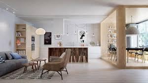 cuisine scandinave design appartement moderne aux faux airs d un loft vivons maison
