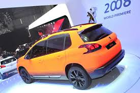peugeot small car peugeot joins the small cuv bandwagon with new 2008 photos u0026 videos