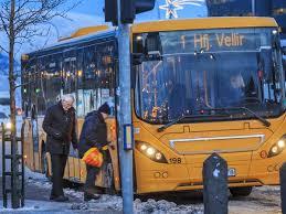 How To Bus Tables Public Transportation Visit Reykjavík