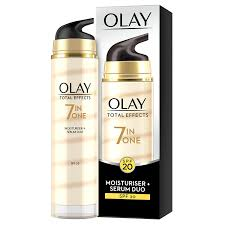 Olay Serum olay total effects 7 in 1 anti ageing moisturiser and