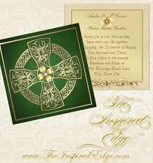 celtic wedding invitations celtic cross wedding invitation wedding invitations the