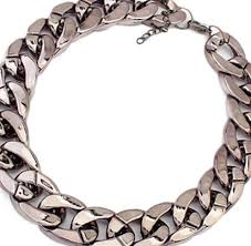 chain link necklace chunky images Kristen 39 s chunky chain link necklace housewives jewelry jpeg
